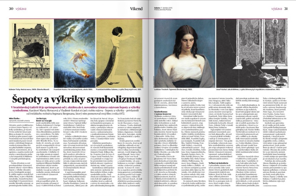 Symbolizmus_Pravda_Štofko_Miloš